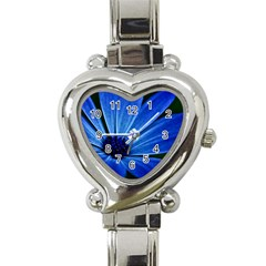 Flower Heart Italian Charm Watch
