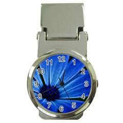 Flower Money Clip with Watch