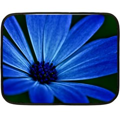 Flower Mini Fleece Blanket (two Sided)