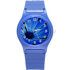 Flower Plastic Sport Watch (Small)