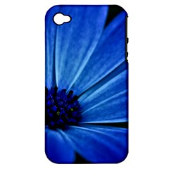 Flower Apple iPhone 4/4S Hardshell Case (PC+Silicone)