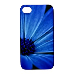 Flower Apple iPhone 4/4S Hardshell Case with Stand