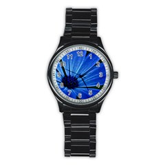 Flower Sport Metal Watch (Black)