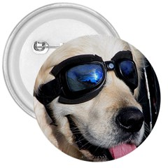 Cool Dog  3  Button