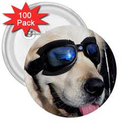 Cool Dog  3  Button (100 pack)