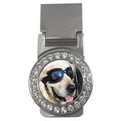 Cool Dog  Money Clip (CZ)