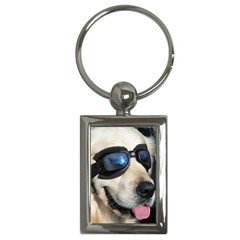 Cool Dog  Key Chain (rectangle)
