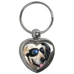 Cool Dog  Key Chain (Heart)