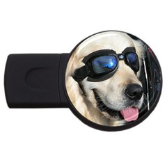 Cool Dog  2gb Usb Flash Drive (round)