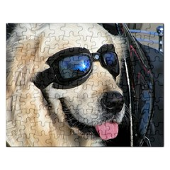 Cool Dog  Jigsaw Puzzle (Rectangle)