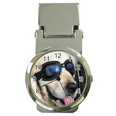 Cool Dog  Money Clip with Watch
