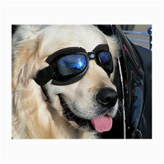 Cool Dog  Glasses Cloth (Small, Two Sided)