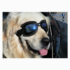 Cool Dog  Glasses Cloth (Large, Two Sided)