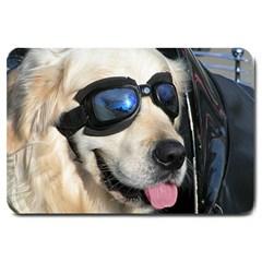 Cool Dog  Large Door Mat