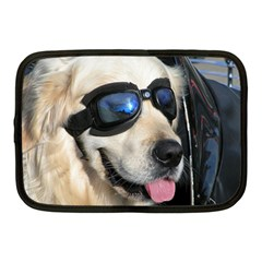 Cool Dog  Netbook Case (Medium)