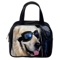 Cool Dog  Classic Handbag (one Side)