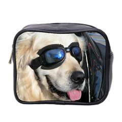 Cool Dog  Mini Travel Toiletry Bag (Two Sides)