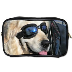 Cool Dog  Travel Toiletry Bag (two Sides)