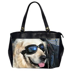 Cool Dog  Oversize Office Handbag (two Sides)