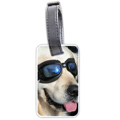 Cool Dog  Luggage Tag (two Sides)