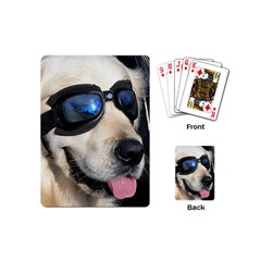 Cool Dog  Playing Cards (Mini)