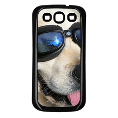 Cool Dog  Samsung Galaxy S3 Back Case (Black)