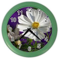 Cosmea   Wall Clock (color)