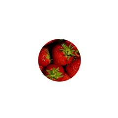 Strawberry  1  Mini Button