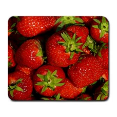 Strawberry  Large Mouse Pad (Rectangle)