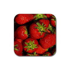 Strawberry  Drink Coaster (Square)