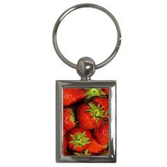 Strawberry  Key Chain (Rectangle)