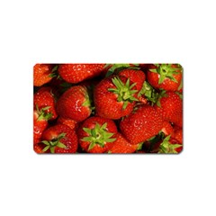 Strawberry  Magnet (Name Card)