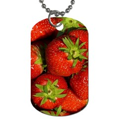 Strawberry  Dog Tag (Two-sided)