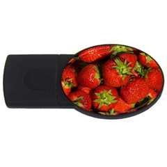 Strawberry  1GB USB Flash Drive (Oval)