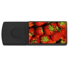 Strawberry  2GB USB Flash Drive (Rectangle)