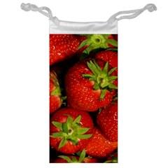 Strawberry  Jewelry Bag