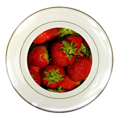 Strawberry  Porcelain Display Plate