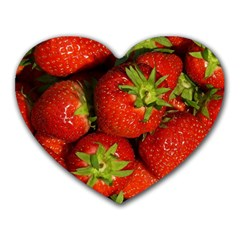 Strawberry  Mouse Pad (Heart)