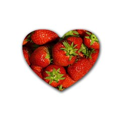 Strawberry  Drink Coasters (Heart)