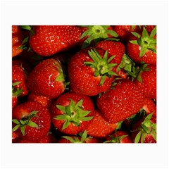 Strawberry  Glasses Cloth (Small, Two Sided)
