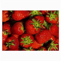 Strawberry  Glasses Cloth (Large, Two Sided)