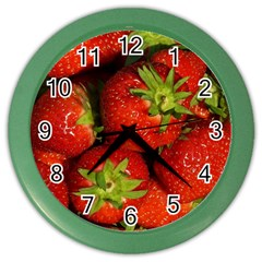 Strawberry  Wall Clock (Color)
