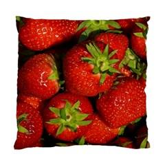 Strawberry  Cushion Case (Single Sided)