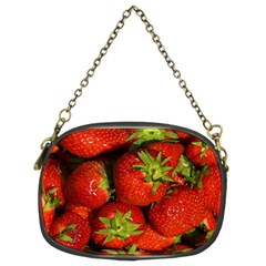 Strawberry  Chain Purse (Two Sided)