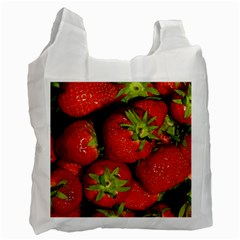 Strawberry  Recycle Bag (One Side)