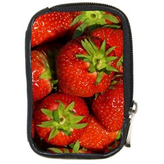 Strawberry  Compact Camera Leather Case