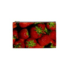 Strawberry  Cosmetic Bag (small)