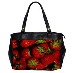 Strawberry  Oversize Office Handbag (one Side)