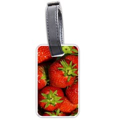 Strawberry  Luggage Tag (One Side)