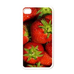Strawberry  Apple iPhone 4 Case (White)